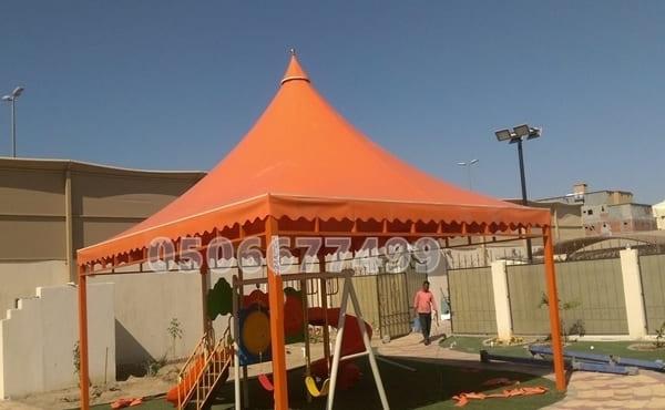 مظلات قماش الرياض