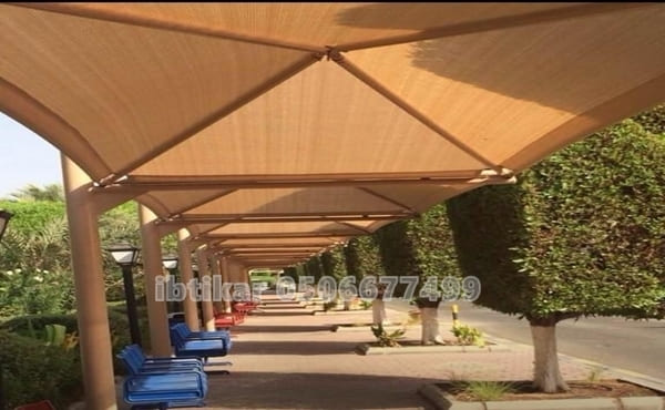 مظلات ممرات الرياض